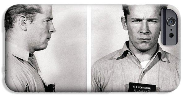 Convict No. 1428 - Whitey Bulger - Alcatraz 1959 IPhone Case by Daniel Hagerman