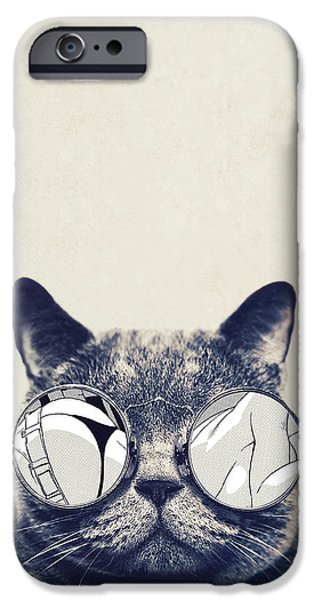 Cool Cat IPhone 6s Case by Vitor Costa