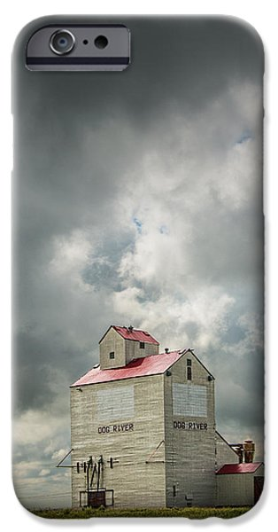 Corner Gas Grain Elevator In Dog River IPhone 6s Case by Randall Nyhof