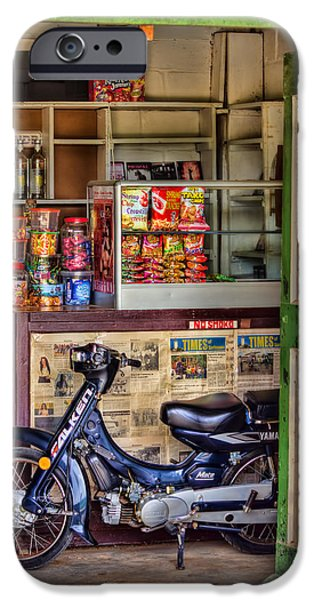 Corner Shop IPhone Case by Nadia Sanowar