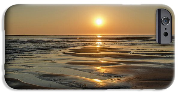 Corson's Inlet At Sunrise In Strathmere New Jersey IPhone Case by Bill Cannon