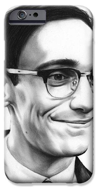 Cory Michael Smith IPhone Case by Greg Joens