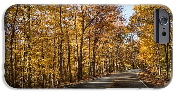 Country Road IPhone Case by Andrea Kappler