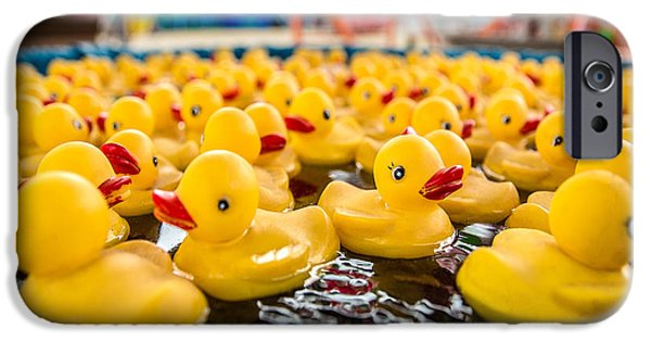 County Fair Rubber Duckies IPhone 6s Case by Todd Klassy