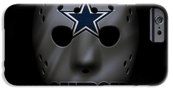Cowboys War Mask 2 IPhone 6s Case by Joe Hamilton