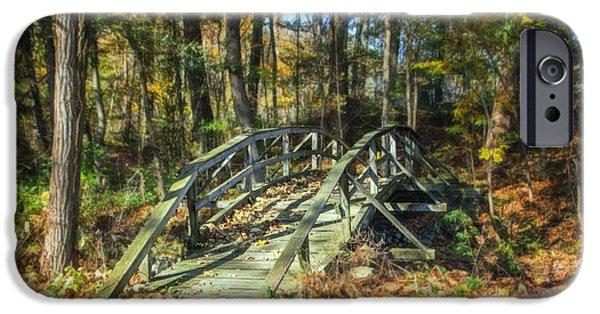 Creek Crossing IPhone Case by Tom Mc Nemar