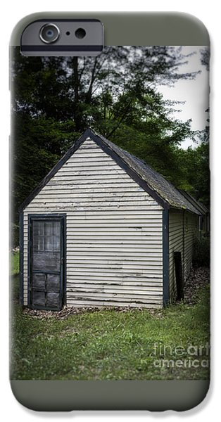 Creepy Old Cabins IPhone Case by Edward Fielding