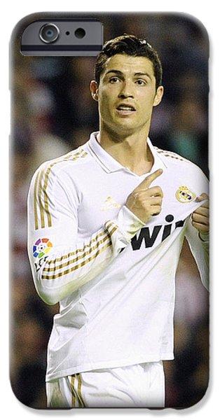 Cristiano Ronaldo 4 IPhone 6s Case by Rafa Rivas