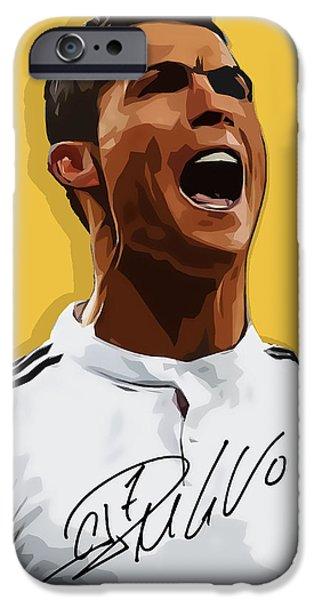 Cristiano Ronaldo Cr7 IPhone 6s Case by Semih Yurdabak