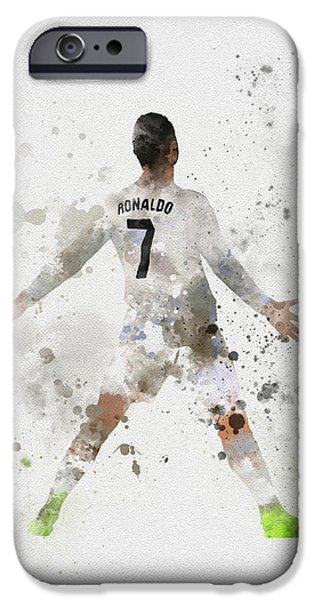 Cristiano Ronaldo IPhone 6s Case by Rebecca Jenkins