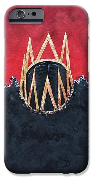 Crowned Royal IPhone Case by Aliya Michelle
