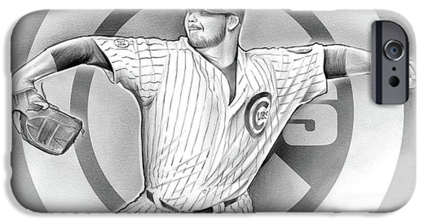 Cubs 2016 IPhone 6s Case by Greg Joens