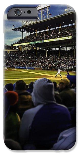 Cubs Game IPhone Case by Britten Adams