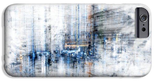 Cyber City Design IPhone Case by Martin Capek