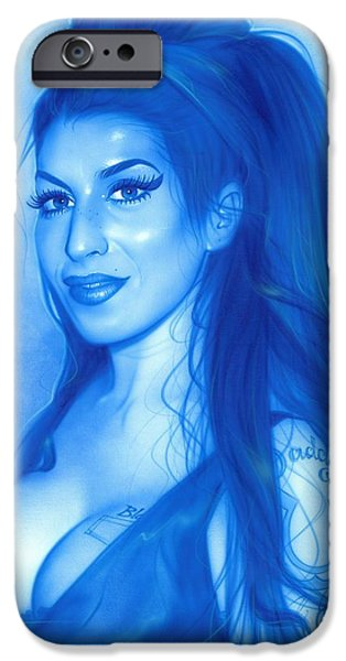 Amy Winehouse - 'daddy's Girl' IPhone 6s Case by Christian Chapman Art