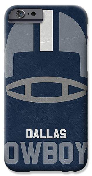 Dallas Cowboys Vintage Art IPhone 6s Case by Joe Hamilton