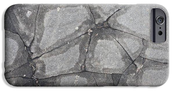 Damaged Concrete IPhone Case by Tom Gowanlock