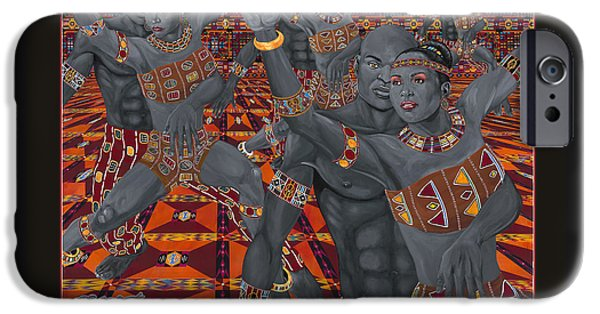 Dance Sankofa Poster IPhone Case by Steve R Allen