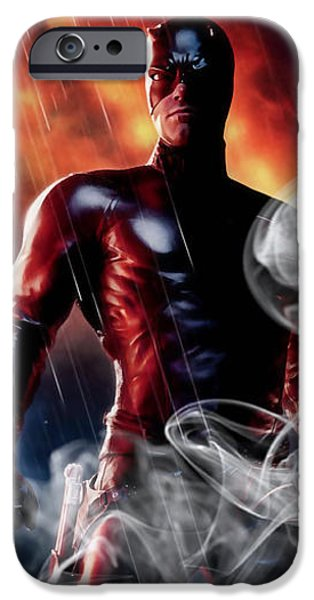 Daredevil Collection IPhone 6s Case by Marvin Blaine