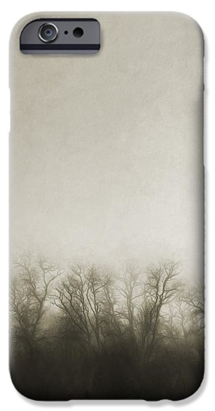 Dark Foggy Wood IPhone Case by Scott Norris