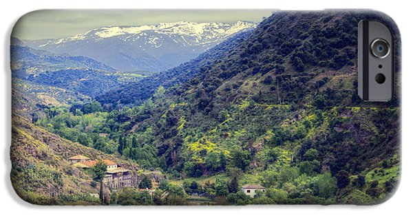 Darro River Valley Granada IPhone Case by Joan Carroll