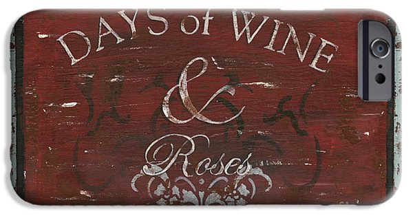 Days Of Wine And Roses IPhone Case by Debbie DeWitt