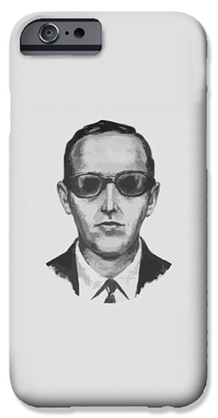 Db Cooper IPhone Case by War Is Hell Store
