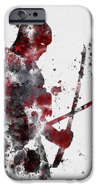 Deadpool IPhone Case by Rebecca Jenkins
