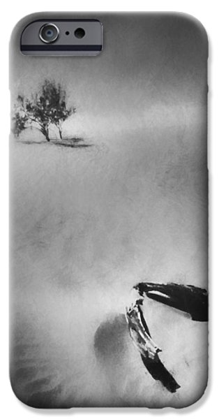 Death Valley 1990 IPhone Case by Scott Norris