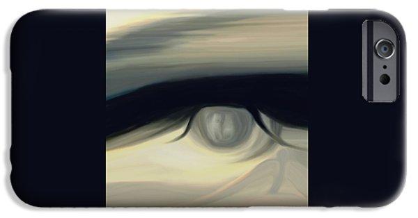 Deception Part 2 IPhone Case by Frances Lewis