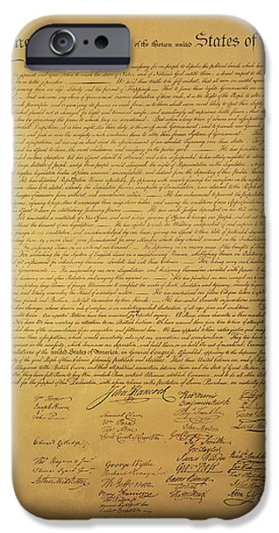 Declaration Of Independence IPhone Case by American School