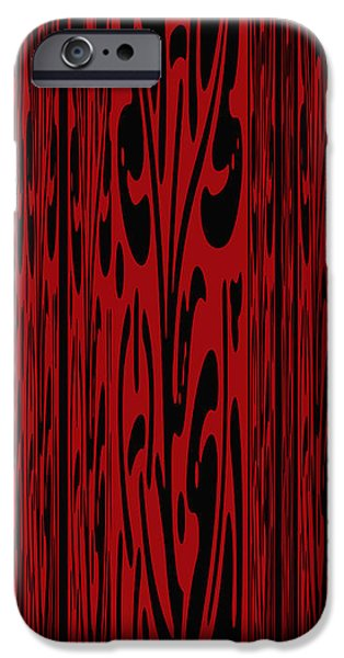 Deep Red Abstract IPhone Case by Aimee L Maher Photography and Art Visit ALMGallerydotcom
