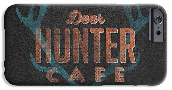 Deer Hunter Cafe IPhone 6s Case by Edward Fielding