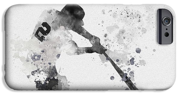 Derek Jeter IPhone 6s Case by Rebecca Jenkins