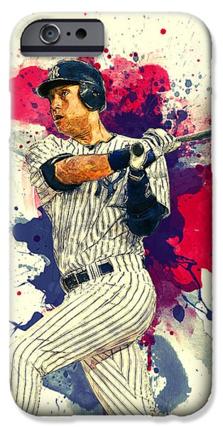 Derek Jeter IPhone 6s Case by Taylan Apukovska