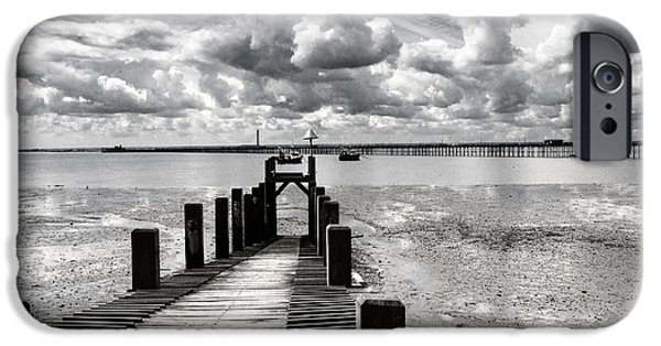 Derelict Wharf IPhone Case by Avalon Fine Art Photography