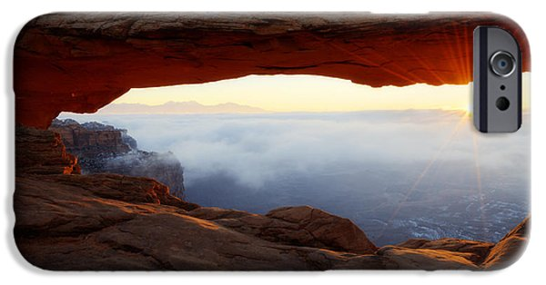 Desert Fog IPhone Case by Chad Dutson