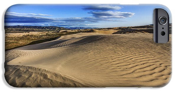 Desert Texture IPhone Case by Chad Dutson