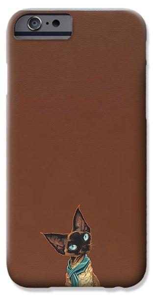 Devon Rex IPhone Case by Jasper Oostland