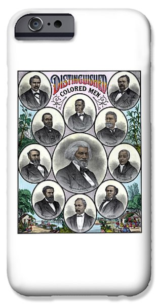 Distinguished Colored Men IPhone 6s Case by War Is Hell Store