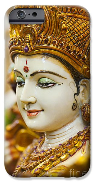 Divine Saraswati IPhone Case by Tim Gainey