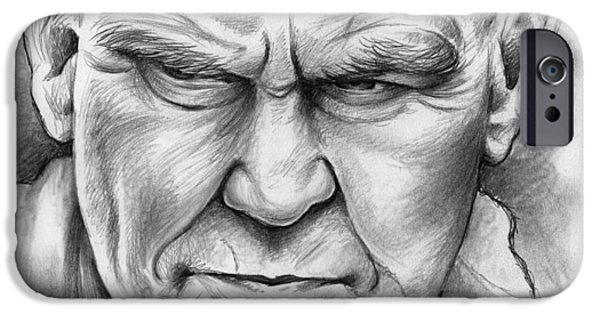Doc Watson IPhone Case by Greg Joens