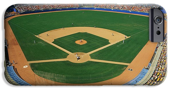Dodger Stadium IPhone Case by Panoramic Images