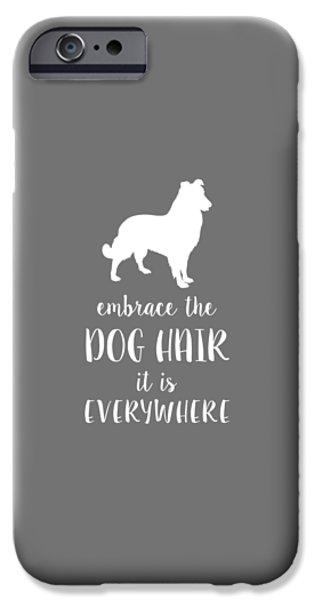 Dog Hair IPhone Case by Nancy Ingersoll