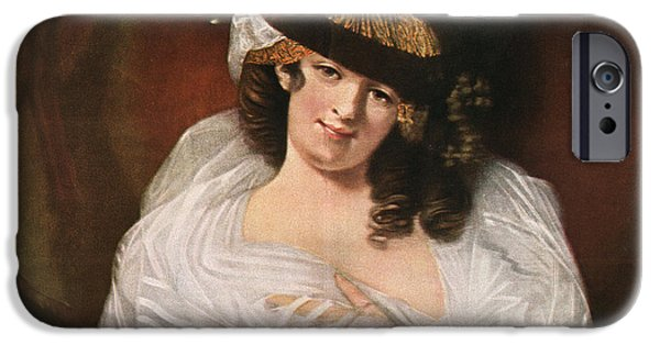 Dorothea Jordan, 1761 IPhone Case by Vintage Design Pics