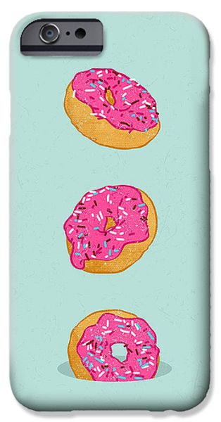 Doughnuts IPhone 6s Case by Evgenia Chuvardina