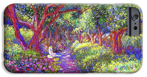 Dove And Healing Garden IPhone 6s Case by Jane Small