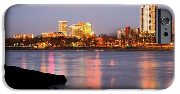 Downtown Tulsa Oklahoma - University Tower View IPhone 6s Case by Gregory Ballos