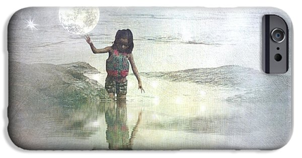 To Touch The Moon IPhone Case by Melissa D Johnston