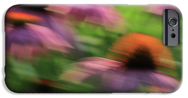 Dreaming Of Flowers IPhone Case by Karol Livote